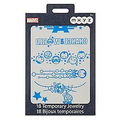 Marvel MXYZ Temporary Jewelry Pack
