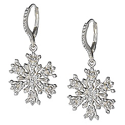 Elsa Snowflake Earrings - Limited Edition