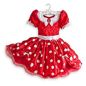 Minnie Mouse Costume for Girls - Red