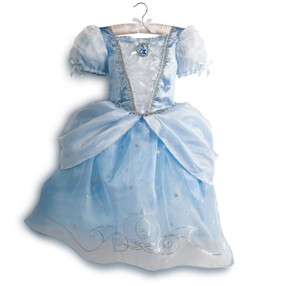 Disney Store Deluxe Cinderella Costume For Baby Toddler 2t: Disney Store Deluxe Cinderella Princess Costume Dress