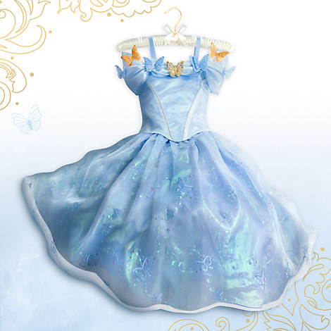Cinderella dress at Disney Store