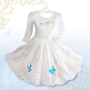 Cinderella Deluxe Wedding Costume for Girls - Live Action Film
