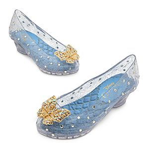 Cinderella Costume Shoes for Girls - Live Action Film