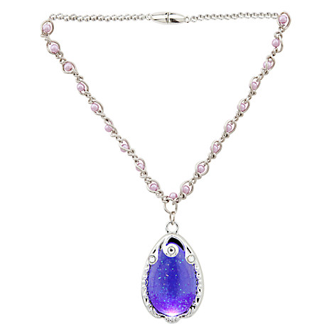 New Silver Gold Tear Shape Drop Chain Necklace For Women