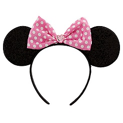 Pink Bow Minnie Mouse Ears Headband for Girls