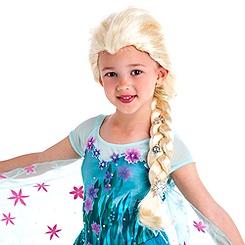 Elsa Wig for Kids