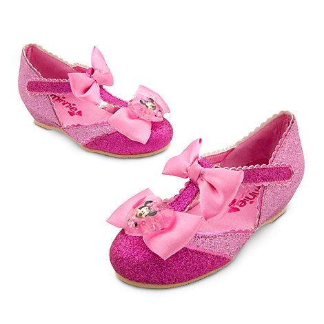 disney store minnie mouse pink costume shoes size 5