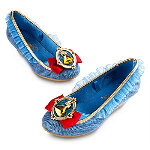 Snow White Costume Shoes for Girls