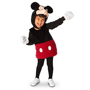 Plush Mickey Mouse Costume for Infants and Toddlers