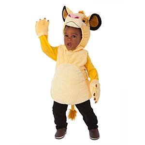 Plush Simba Costume for Infants and Toddlers