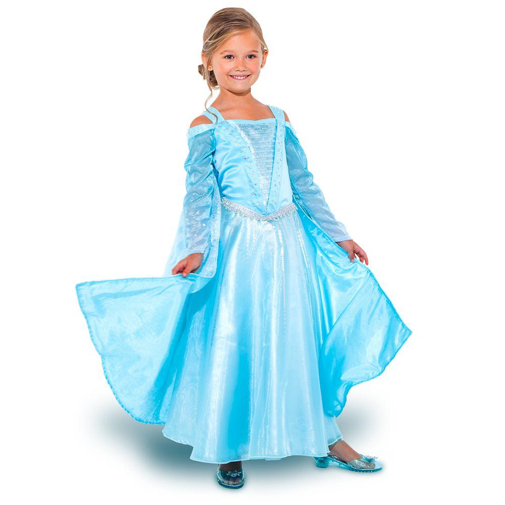 Disney Frozen Girls Elsa Light-Up Costume