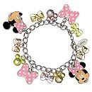 Minnie Mouse Bow Charm Bracelet