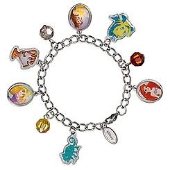 Disney Princess Cameo Charm Bracelet