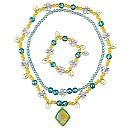 Tinker Bell Necklace and Bracelet Set