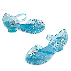 Elsa Light-Up Costume Shoes for Kids