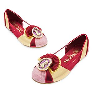 Mulan Costume Shoes for Kids