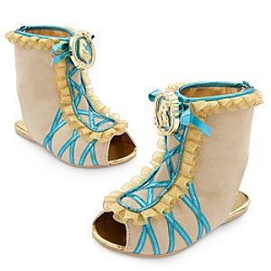 Pocahontas Costume Shoes for Kids