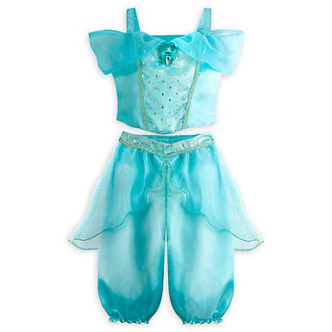 Jasmine Baby Costume Top Pants Infant Aladdin Jewel Nwt