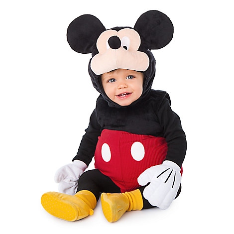 Mickey Mouse Plush Costume for Baby