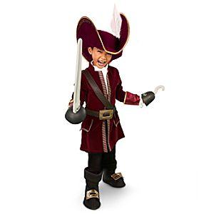 Captain Hook Costume for Boys