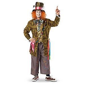 Alice in Wonderland Mad Hatter Costume for Adults