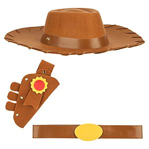 Woody Costume Accessory Set for Boys