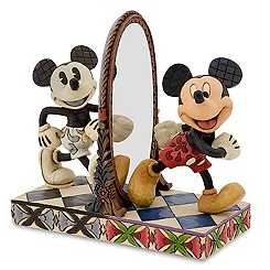 ''Then and Now'' Mickey Mouse Figurine by Jim Shore