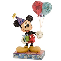 ''Cheerful Celebration'' Mickey Mouse Figurine by Jim Shore