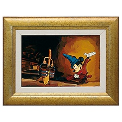 Mickey Mouse ''The Sorcerer's Apprentice'' Giclée by Jim Salvati