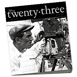 D23 Disney twenty-three Magazine Premier Issue