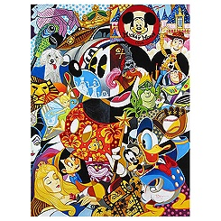 Mickey Mouse ''In the Company of Legends'' Giclée - Petite