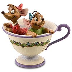 ''Tea for Two'' Gus and Jaq Figurine by Jim Shore