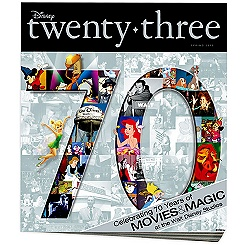 D23 Disney twenty-three Spring 2010 Magazine