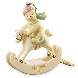 Personalized Winnie the Pooh and Me Ornament by Lenox