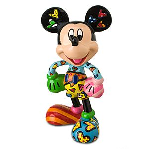 Sweetheart Mickey Mouse Figurine by Britto -- 4 H
