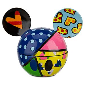 Sweetheart Mickey Mouse Ears Keepsake Box by Britto