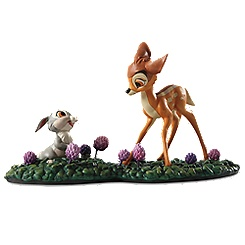 WDCC ''Just Eat the Blossoms'' Thumper and Bambi Figurine