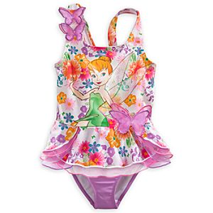 Tinker Bell Deluxe Swimsuit for Girls
