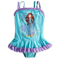 Merida Swimsuit for Girls