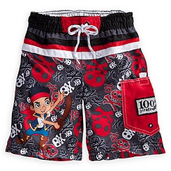 Jake and the Never Land Pirates Swim Trunks for Boys