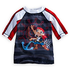 Jake and the Never Land Pirates Rash Guard for Boys