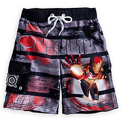 Iron Man 3 Swim Trunks for Boys