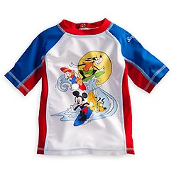Mickey Mouse and Friends Rash Guard for Boys