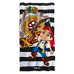 Jake and the Never Land Pirates Beach Towel - Personalizable