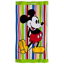 Mickey Mouse Beach Blanket Towel - Personalizable - Summer Fun