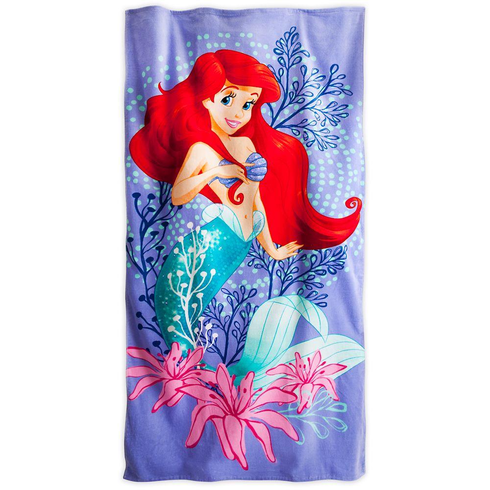 Mermaid Guest Towels: Ariel Beach Towel