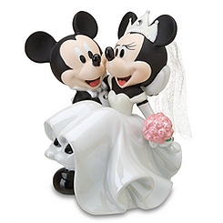 Wedding Minnie Mouse and Mickey Mouse Figurine