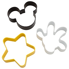 Best of Mickey Mouse Cookie Cutter Set -- 3-Pc.