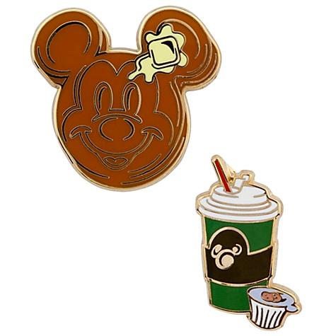 Mickey Mouse Pancake Pin Set
