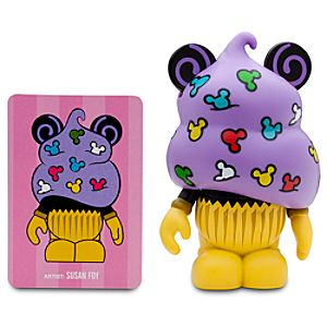 Vinylmation Bakery Series 3 Figure -- Mickey Confetti Cupcake